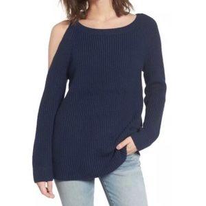 Treasure & Bond One Cold Shoulder Sweater